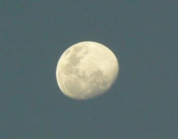 Moon in the Peruvian Coast